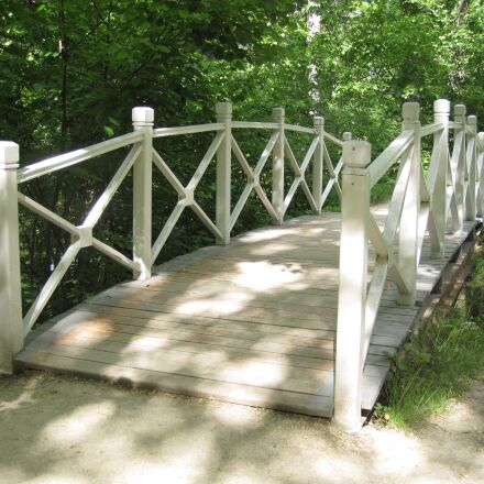 bridge, summer, white, Canon DIGITAL IXUS 990 IS