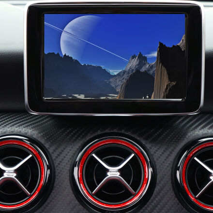 auto, automobile, blue, car, Sony NEX-5N