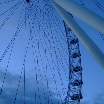 london, eye, Fujifilm FinePix F30