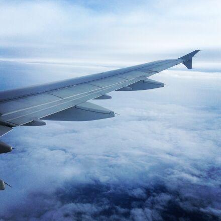 wing, aircraft, air france, Apple iPad Air