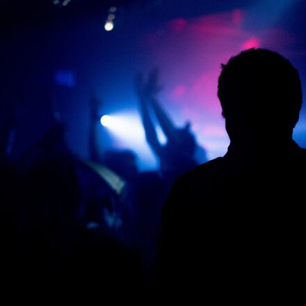night club, silhouette, party, Sony ILCE-7S