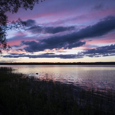 empty, lake, during, night, Nikon D7200