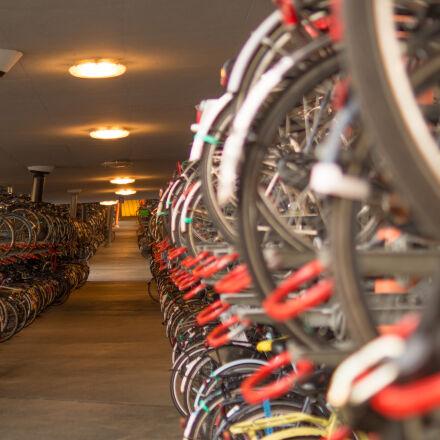 bicycle, bike, parking, the, Sony SLT-A58