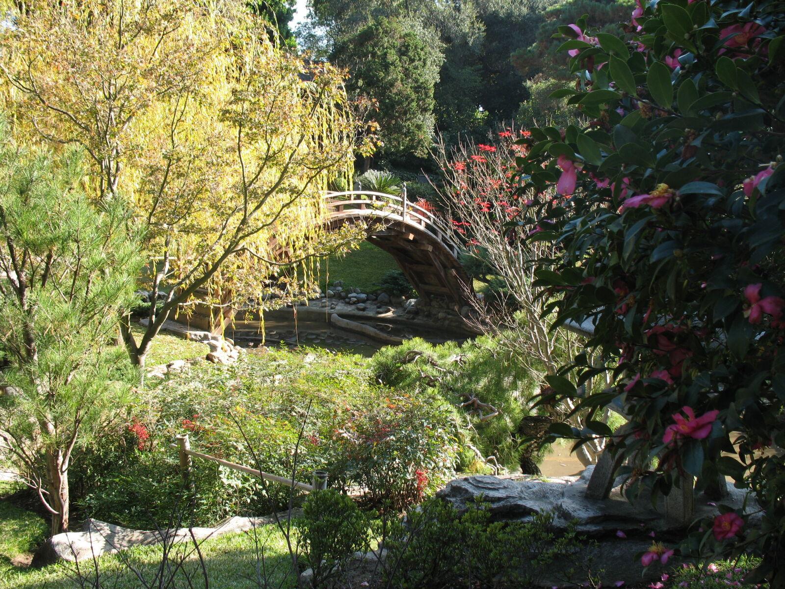 """Canon POWERSHOT A620 sample photo. """"Bridge, garden"""" photography"""