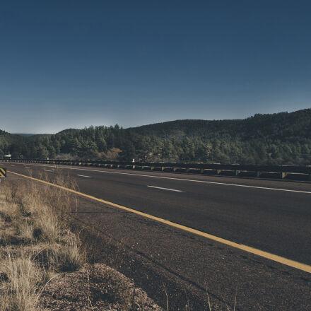 road, landscape, mountains, trees, Nikon D7000
