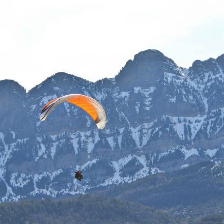 sport, athlete, paragliding, Canon EOS 600D