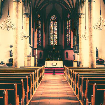 church, interior, liechtenstein, vaduz, Canon EOS 60D