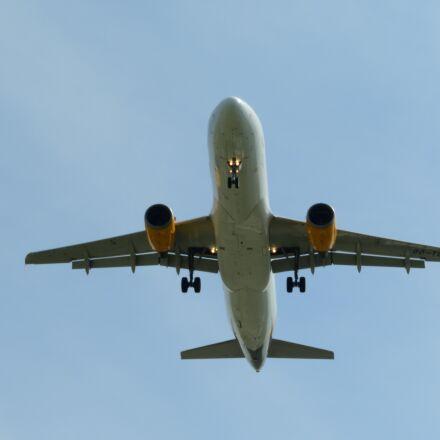 landing, aircraft, land, Nikon COOLPIX B700