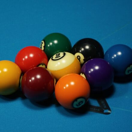billiards, installation, ball, Sony ILCE-6000