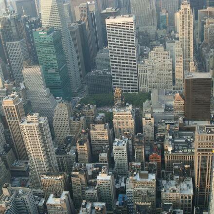 buildings, manhattan, new, york, Sony DSC-W90
