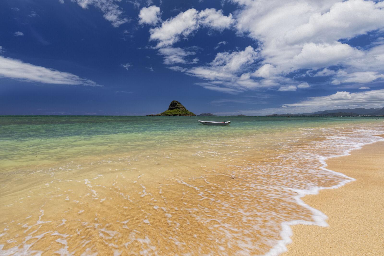 """Canon EOS 5D Mark IV sample photo. """"Beach, blue, sky, island"""" photography"""
