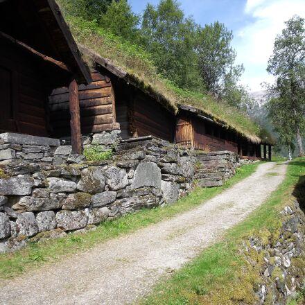 norway, village, wood, Fujifilm FinePix J110W