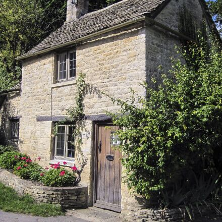 cottage, bibury, england, Canon POWERSHOT A1100 IS