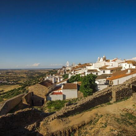 panorama, houses, village, Canon EOS 60D