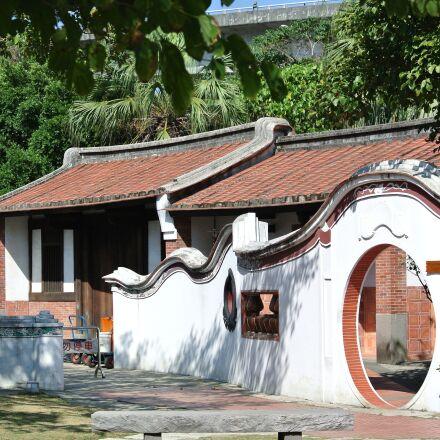 former residence, house, courtyard, Nikon 1 V1
