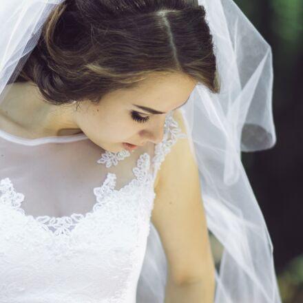 wedding, bride, white, Canon EOS 7D MARK II