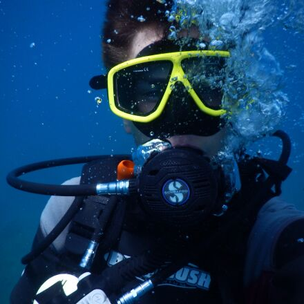diving, divers, underwater, Nikon COOLPIX AW110