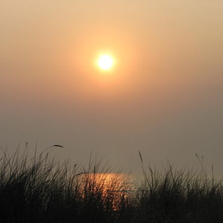 morgenstimmung, sun, yellow, Canon POWERSHOT SX1 IS