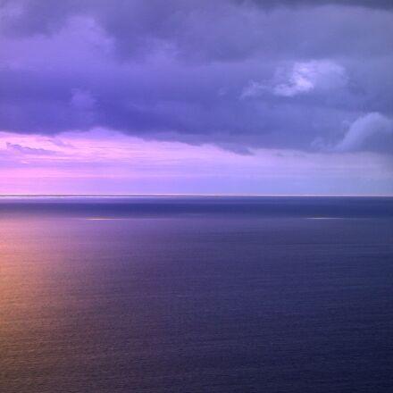 sunset, madeira, sky, Fujifilm FinePix S2980