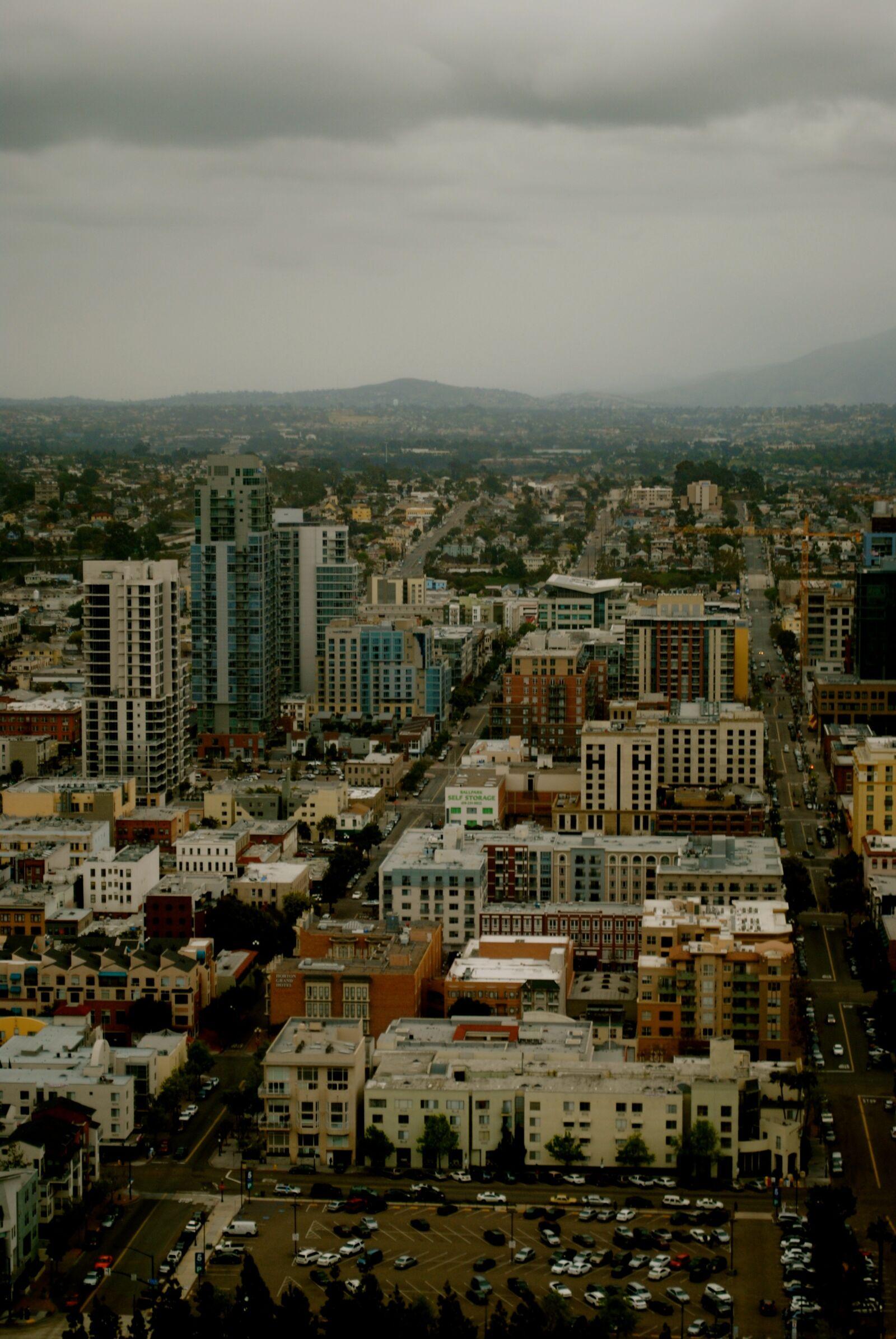 "Nikon D3000 sample photo. ""Cityscape, buildings, city"" photography"
