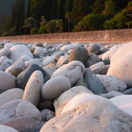 beach, stones, sea, Panasonic DMC-FT5