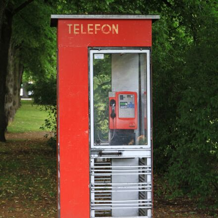 telephone booth, telefon, red, Canon EOS 7D
