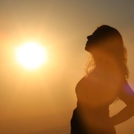 women, female, sun, Canon EOS 5D MARK III