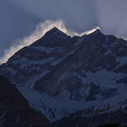 panoramic, snow, mountain, Olympus E-5