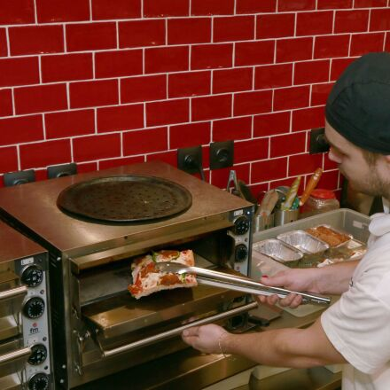 pizza, oven, heat, Canon EOS 70D