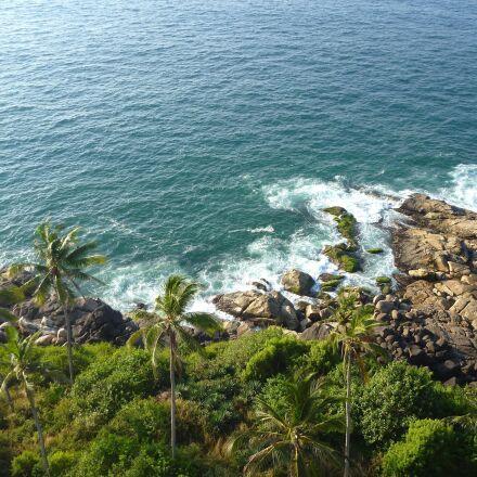 wave, ocean, shore, water, Panasonic DMC-TS2