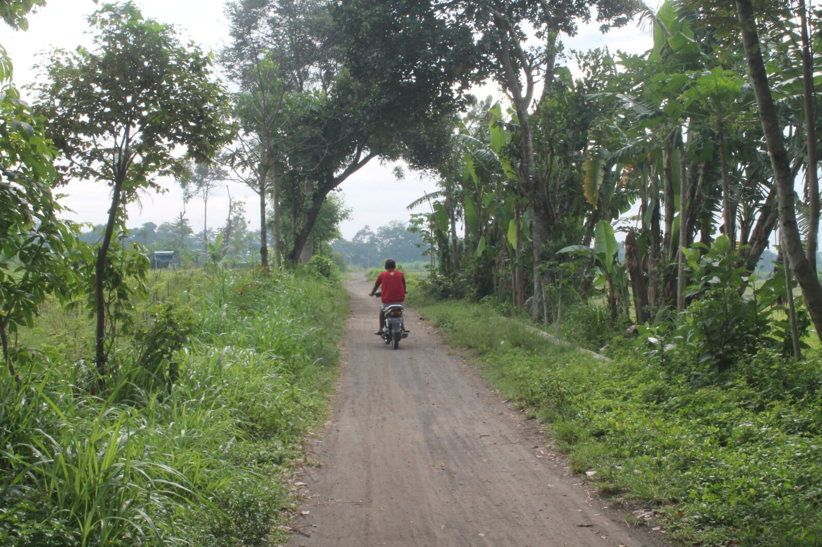 """Canon EOS 1100D (EOS Rebel T3 / EOS Kiss X50) sample photo. """"Village, motorcycle, travel"""" photography"""