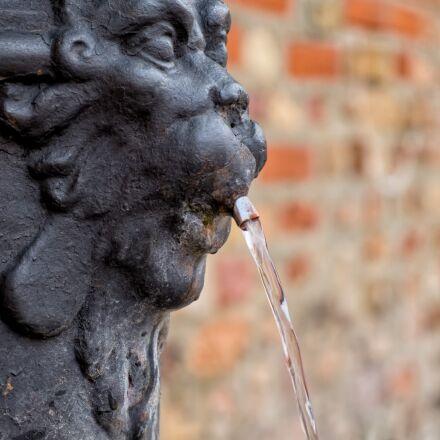 fountain, venice, water, Fujifilm X-T1