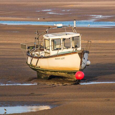 ship, low tide, north, Canon EOS 60D