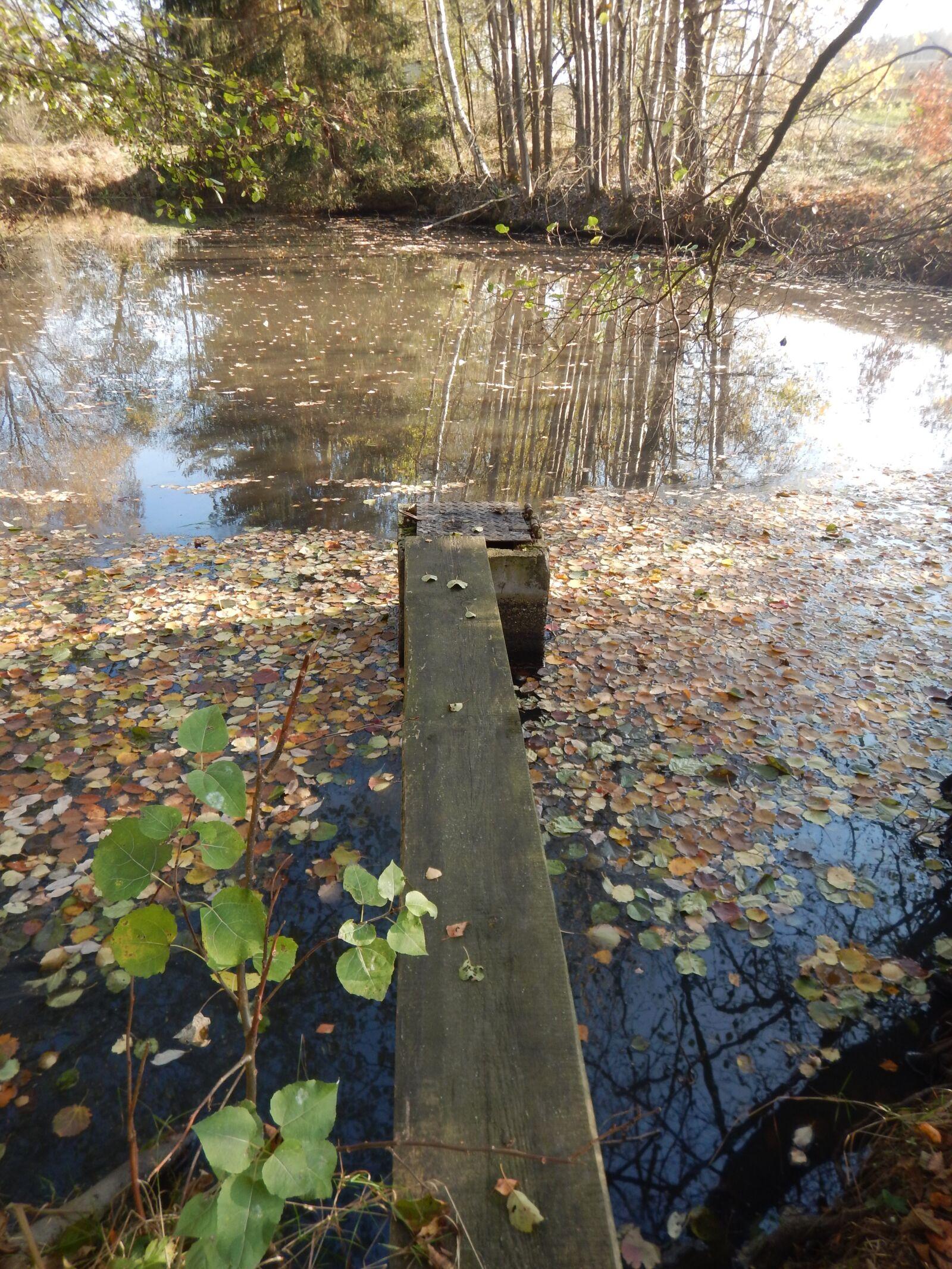 "Nikon Coolpix AW120 sample photo. ""Bridge, pier, pond"" photography"