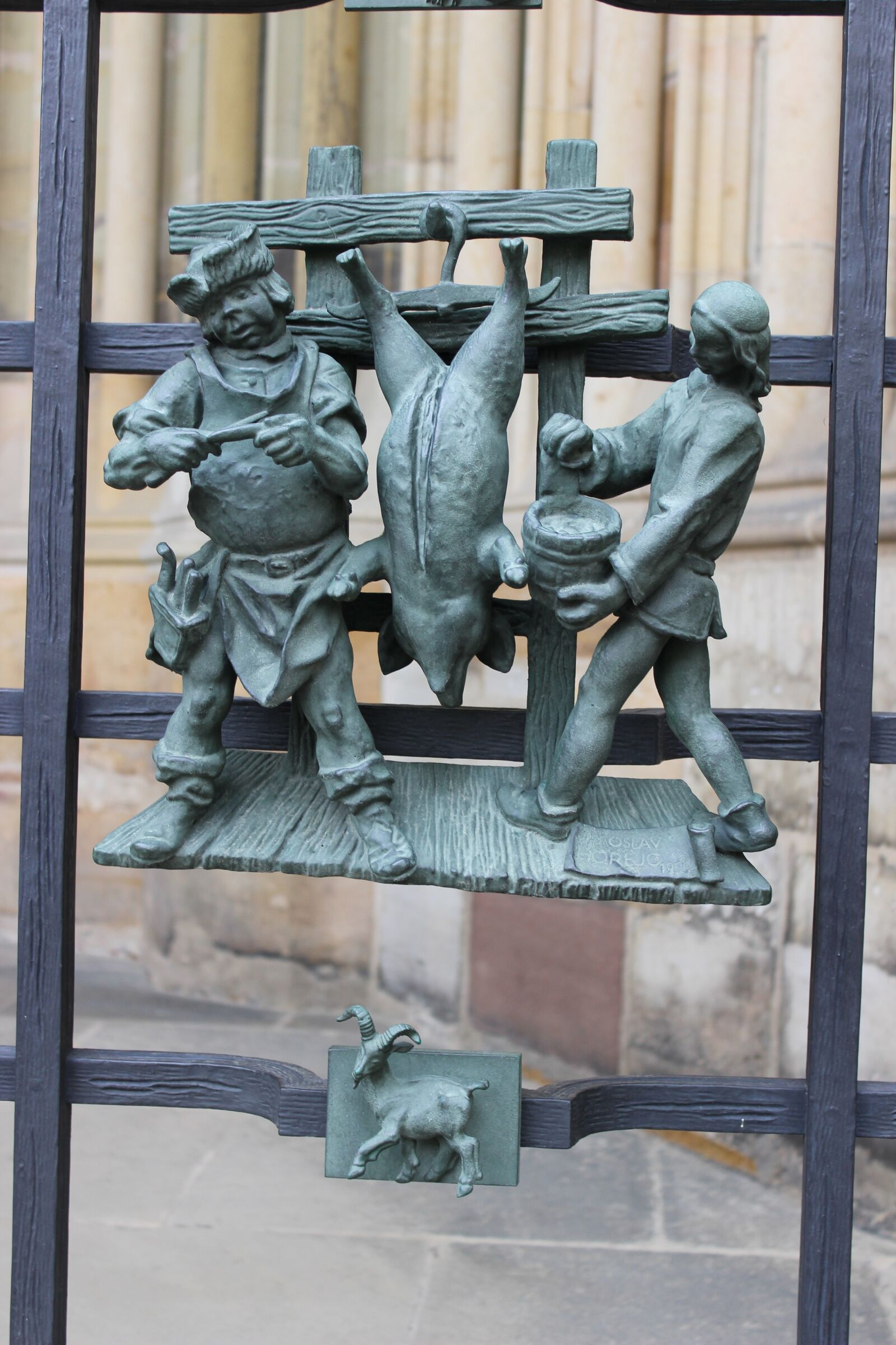 """Canon EOS 600D (Rebel EOS T3i / EOS Kiss X5) sample photo. """"St vitus cathedral, gate"""" photography"""