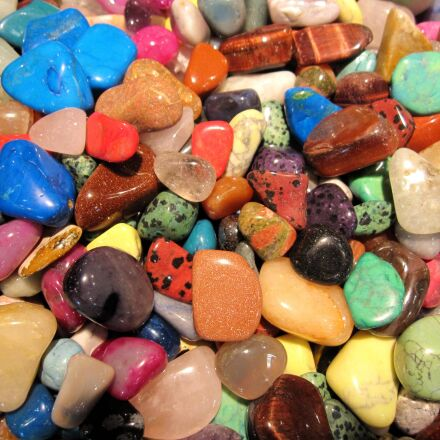 gemstones, stones, colors, Canon POWERSHOT SD880 IS