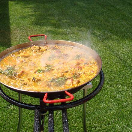 paella, valencia, rice, Sony DSC-T700