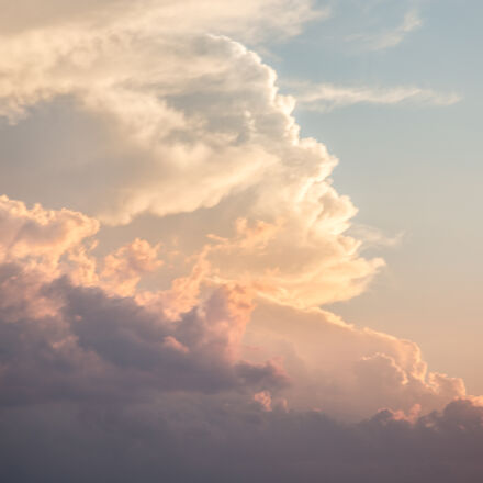clouds, nature, sky, Canon EOS 5D MARK III