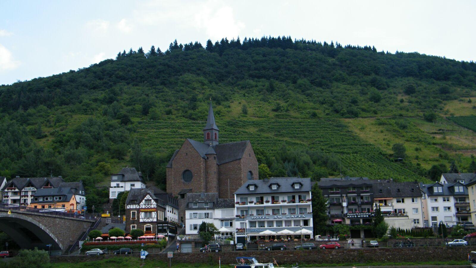 "Fujifilm FinePix S2000HD sample photo. ""Mosel, vineyards, vineyard"" photography"