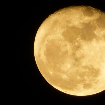 moon, summer, night, Panasonic DMC-TZ30