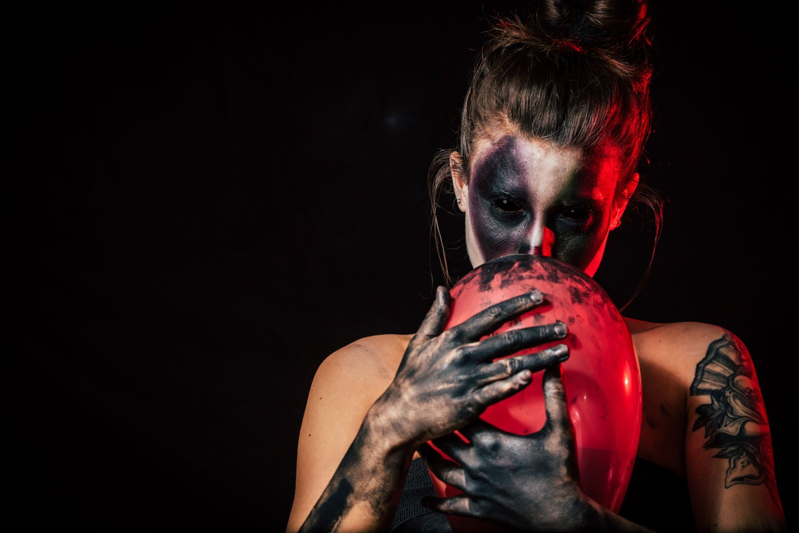 "Nikon D750 sample photo. ""Horror, clown, halloween"" photography"