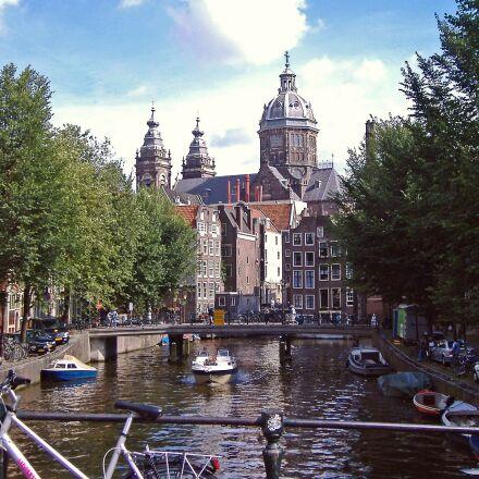 amsterdam, canal, centrum, Fujifilm FinePix A345