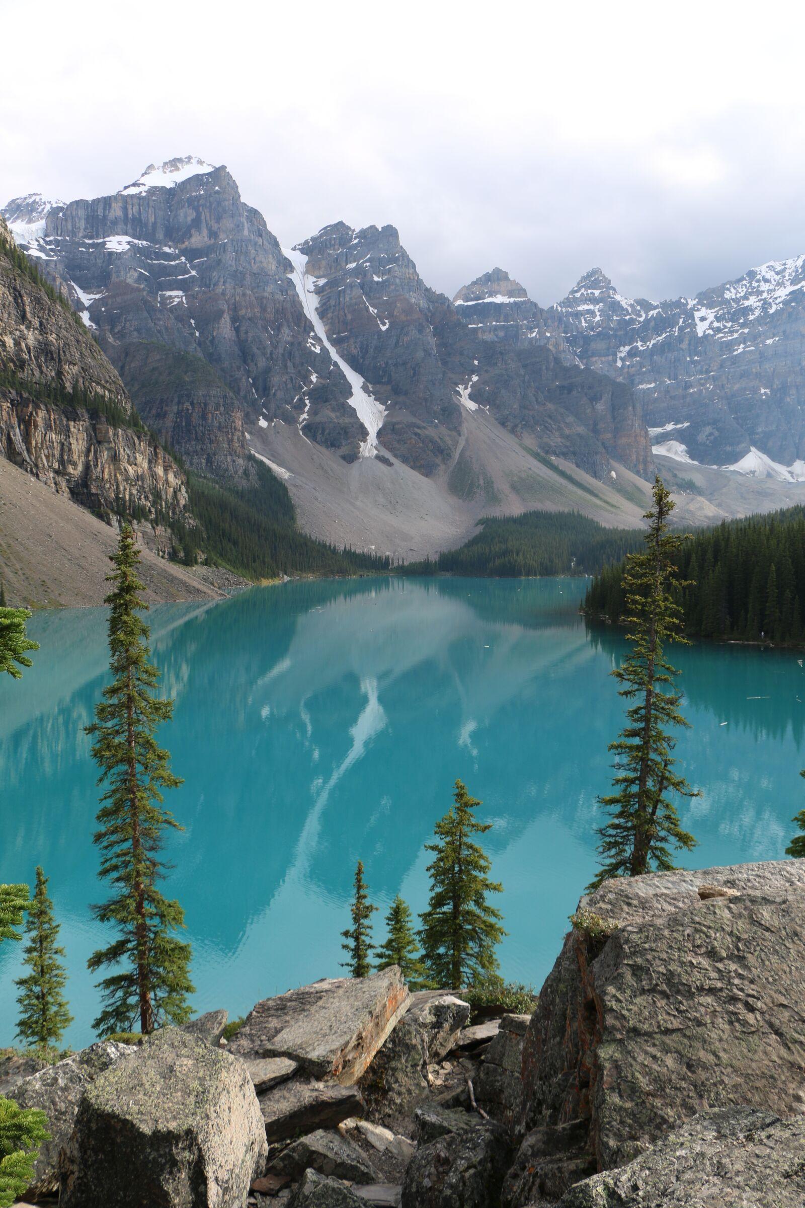 "Canon EOS 70D sample photo. ""Moraine lake, ab, canada"" photography"