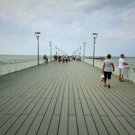 ko obrzeg, the pier, Nikon COOLPIX P900