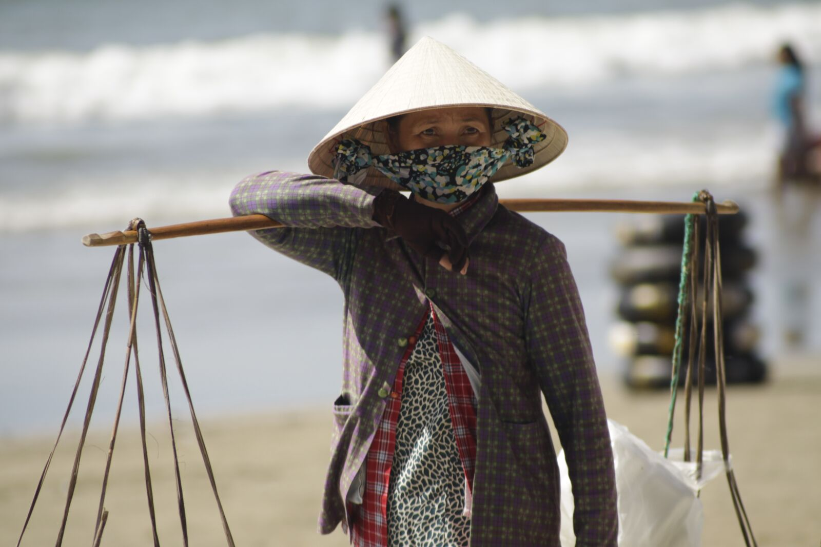 """Canon EOS 50D sample photo. """"Hat, seaside, badger"""" photography"""