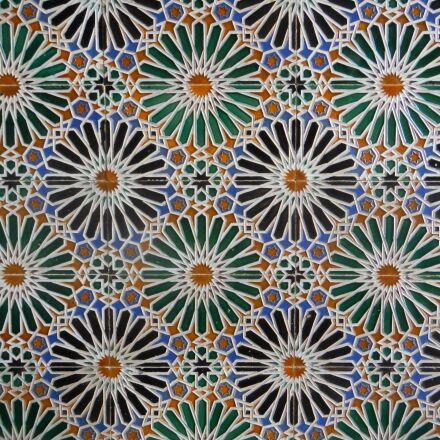 tiles, morocco, spain, Nikon COOLPIX AW100