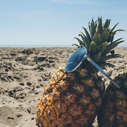 beach, blue, sky, fruit, Sony ILCE-7M2