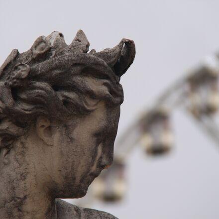detail, statue, paris, Canon EOS 700D