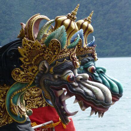dragons, temple, historical monument, Panasonic DMC-TZ30