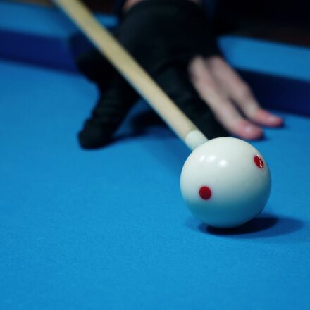 billiards, kick off, white, Sony ILCE-6000